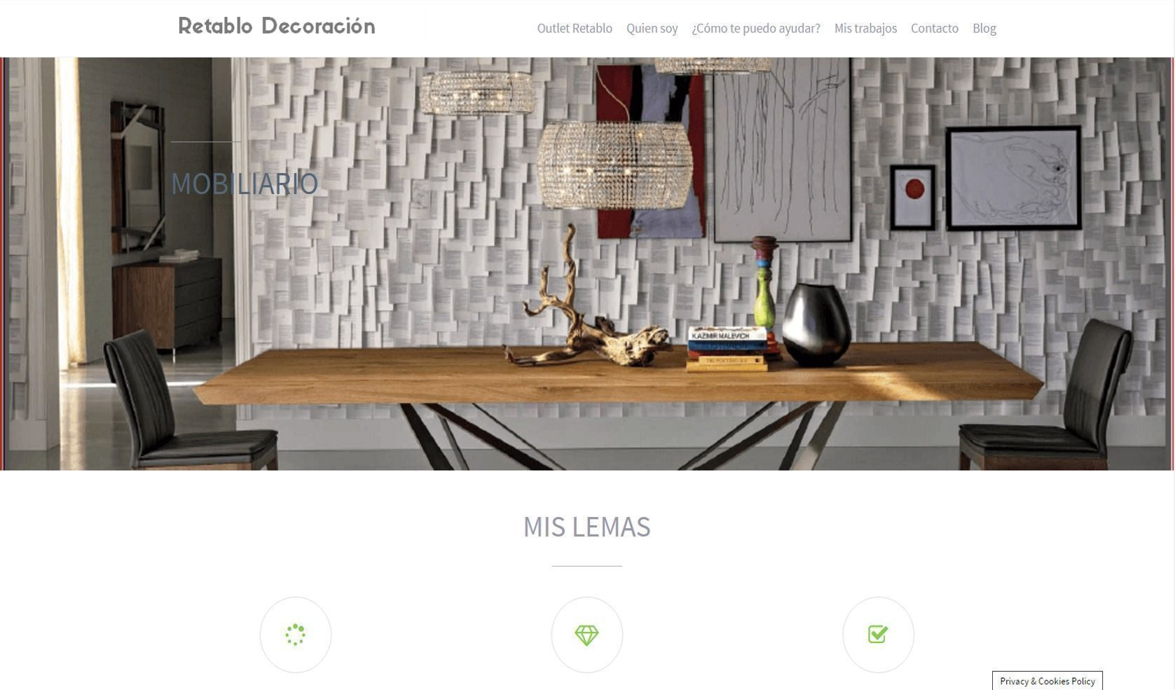 Diseño Web Andrea Collazo