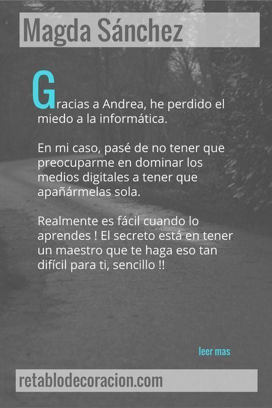 Opiniones Andrea Collazo