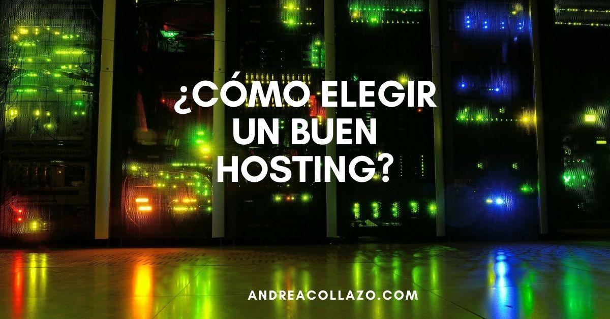 cómo elegir un buen hosting