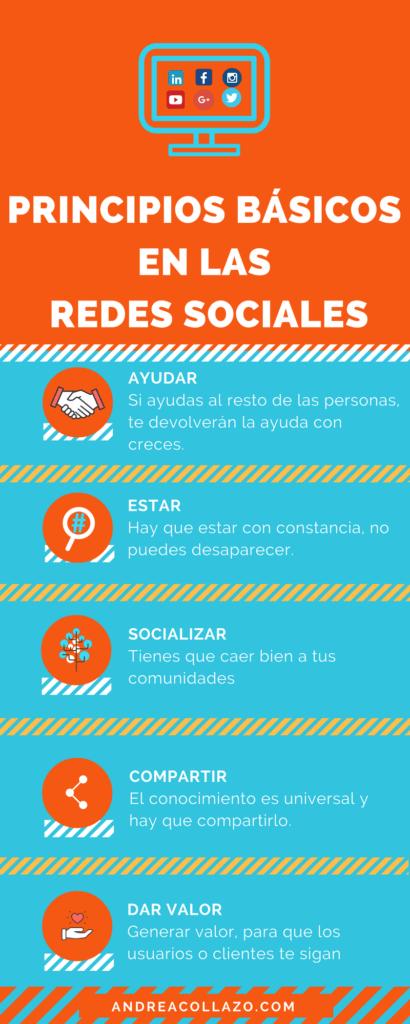 Principios Básicos en las redes-sociales