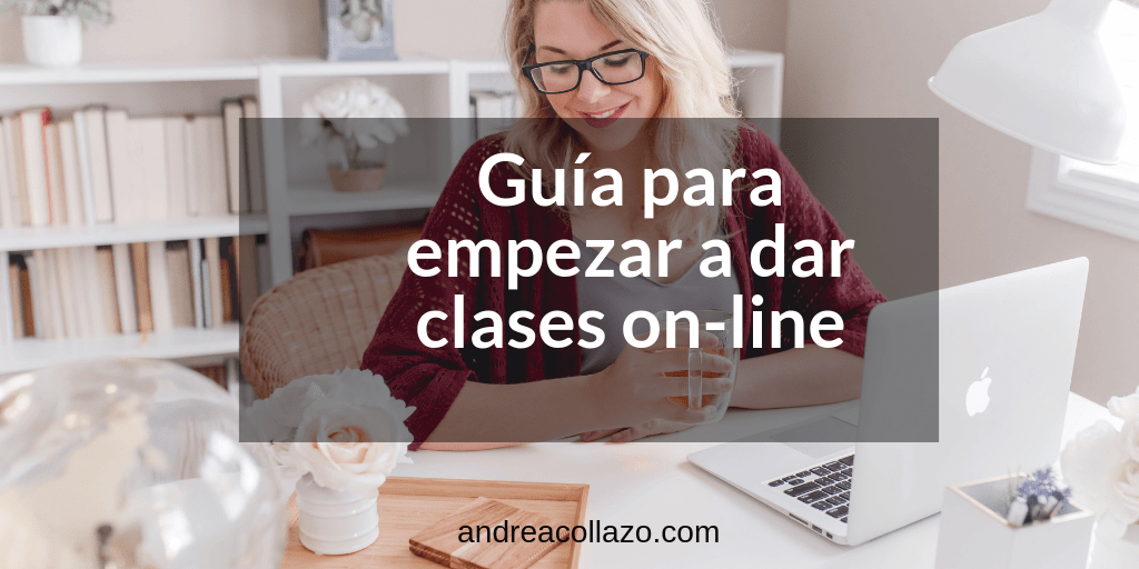 dar clases on-line